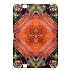 Boho Bohemian Hippie Floral Abstract Faded  Kindle Fire HD 8.9