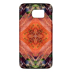 Boho Bohemian Hippie Floral Abstract Faded  Galaxy S6