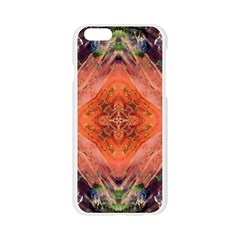 Boho Bohemian Hippie Floral Abstract Faded  Apple Seamless iPhone 6/6S Case (Transparent)