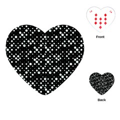 Galaxy Dots Playing Cards (Heart)