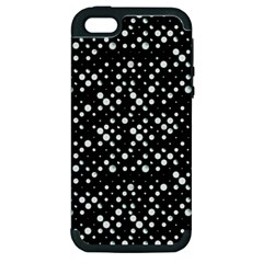 Galaxy Dots Apple iPhone 5 Hardshell Case (PC+Silicone)