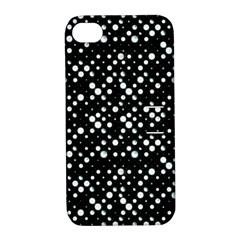 Galaxy Dots Apple iPhone 4/4S Hardshell Case with Stand