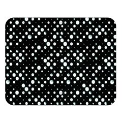 Galaxy Dots Double Sided Flano Blanket (Large)