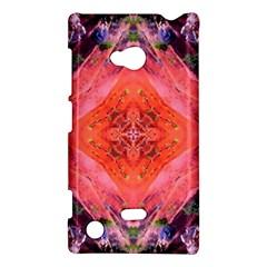 Boho Bohemian Hippie Retro Tie Dye Summer Flower Garden design Nokia Lumia 720