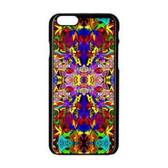 PSYCHO AUCTION Apple iPhone 6/6S Black Enamel Case