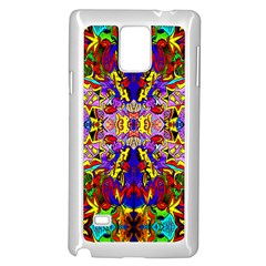 PSYCHO AUCTION Samsung Galaxy Note 4 Case (White)