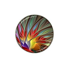 Fractal Bird of Paradise Hat Clip Ball Marker