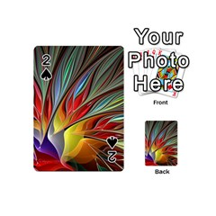 Fractal Bird of Paradise Playing Cards 54 (Mini)
