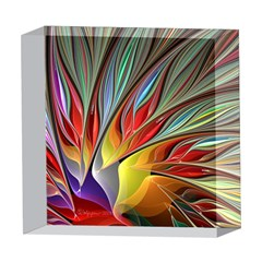 Fractal Bird of Paradise 5  x 5  Acrylic Photo Block