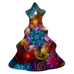 Spirals And Curlicues Ornament (Christmas Tree)
