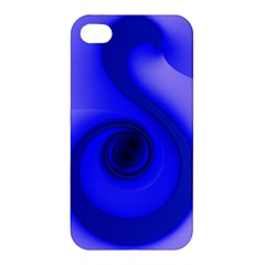 Blue Spiral Note Apple iPhone 4/4S Hardshell Case