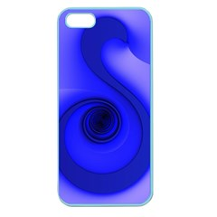 Blue Spiral Note Apple Seamless iPhone 5 Case (Color)