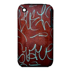 Urban Graffiti Rust Grunge Texture Background Apple iPhone 3G/3GS Hardshell Case (PC+Silicone)