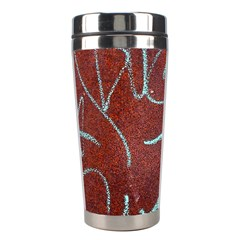 Urban Graffiti Rust Grunge Texture Background Stainless Steel Travel Tumblers