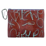 Urban Graffiti Rust Grunge Texture Background Canvas Cosmetic Bag (XXL)  Front