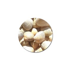 Tropical Exotic Sea Shells Golf Ball Marker (4 pack)