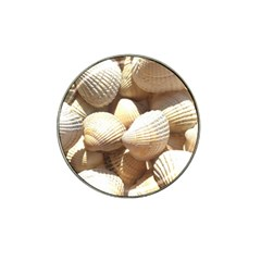 Tropical Exotic Sea Shells Hat Clip Ball Marker