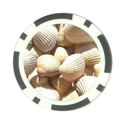 Tropical Exotic Sea Shells Poker Chip Card Guards