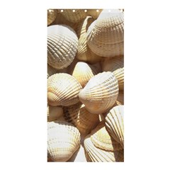 Tropical Exotic Sea Shells Shower Curtain 36  x 72  (Stall)