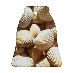 Tropical Exotic Sea Shells Bell Ornament (2 Sides)