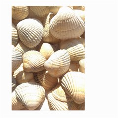 Tropical Exotic Sea Shells Large Garden Flag (Two Sides)