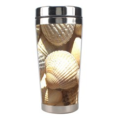Tropical Exotic Sea Shells Stainless Steel Travel Tumblers