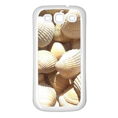 Tropical Exotic Sea Shells Samsung Galaxy S3 Back Case (White)