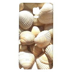 Tropical Exotic Sea Shells Galaxy Note 4 Back Case