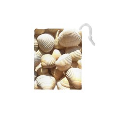 Tropical Exotic Sea Shells Drawstring Pouches (XS)