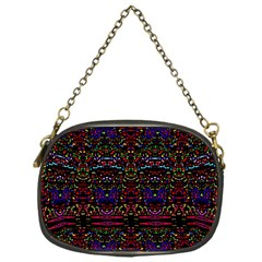 Purple 88 Chain Purses (one Side)