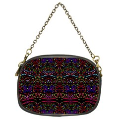 Purple 88 Chain Purses (two Sides)