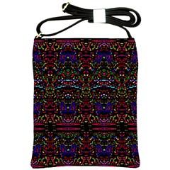 PURPLE 88 Shoulder Sling Bags