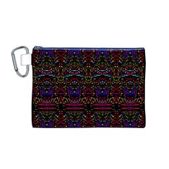 PURPLE 88 Canvas Cosmetic Bag (M)