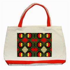Exile Planet Classic Tote Bag (red)