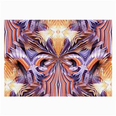 Fire Goddess Abstract Modern Digital Art  Large Glasses Cloth