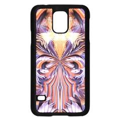 Fire Goddess Abstract Modern Digital Art  Samsung Galaxy S5 Case (Black)