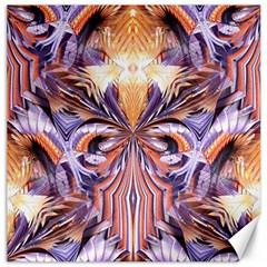 Fire Goddess Abstract Modern Digital Art  Canvas 12  x 12
