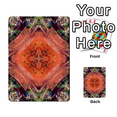 Boho Bohemian Hippie Floral Abstract Faded  Multi Purpose Cards (rectangle)