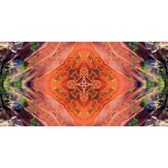 Boho Bohemian Hippie Floral Abstract Faded  YOU ARE INVITED 3D Greeting Card (8x4)