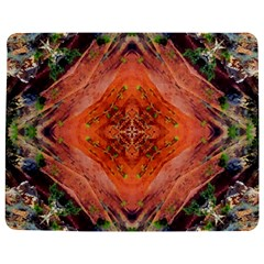 Boho Bohemian Hippie Floral Abstract Faded  Jigsaw Puzzle Photo Stand (rectangular)