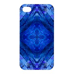Boho Bohemian Hippie Tie Dye Cobalt Apple iPhone 4/4S Hardshell Case