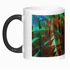Metallic Abstract Copper Patina  Morph Mugs