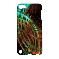 Metallic Abstract Copper Patina  Apple iPod Touch 5 Hardshell Case