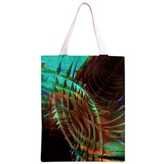 Metallic Abstract Copper Patina  Classic Light Tote Bag