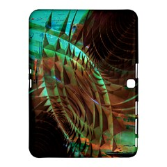 Metallic Abstract Copper Patina  Samsung Galaxy Tab 4 (10.1 ) Hardshell Case