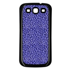 Abstract Texture Samsung Galaxy S3 Back Case (Black)