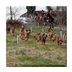 Bloodhounds Working Tile Coasters