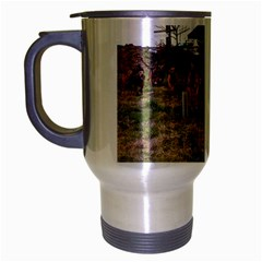 Bloodhounds Working Travel Mug (Silver Gray)