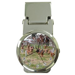 Bloodhounds Working Money Clip Watches