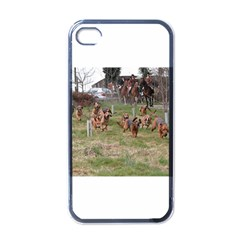 Bloodhounds Working Apple iPhone 4 Case (Black)